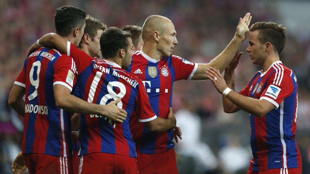 VANT: Bayern München fikk en god start på sesongen.