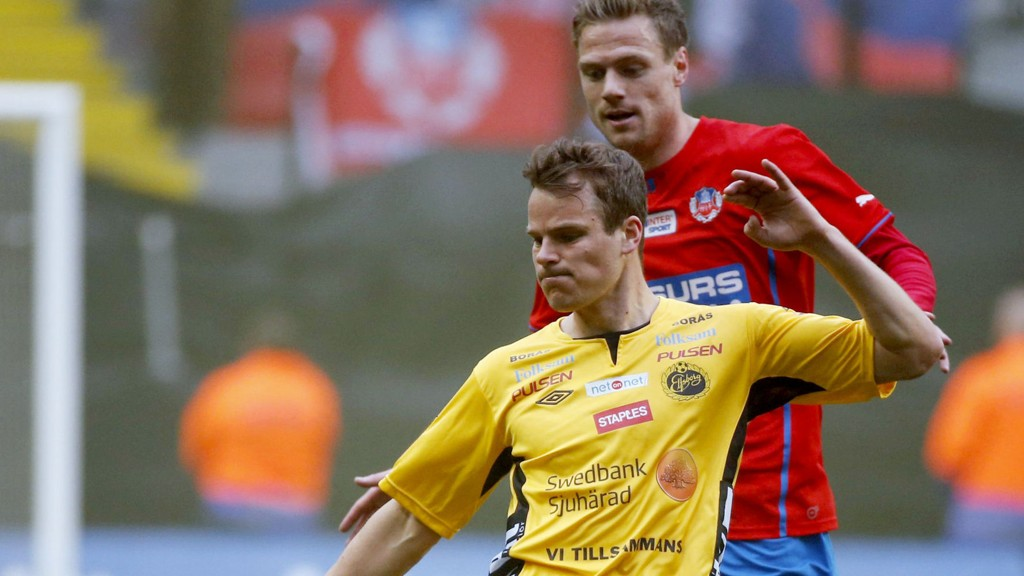 Henning Hauger og hans Elfsborg matches hardt for tiden.