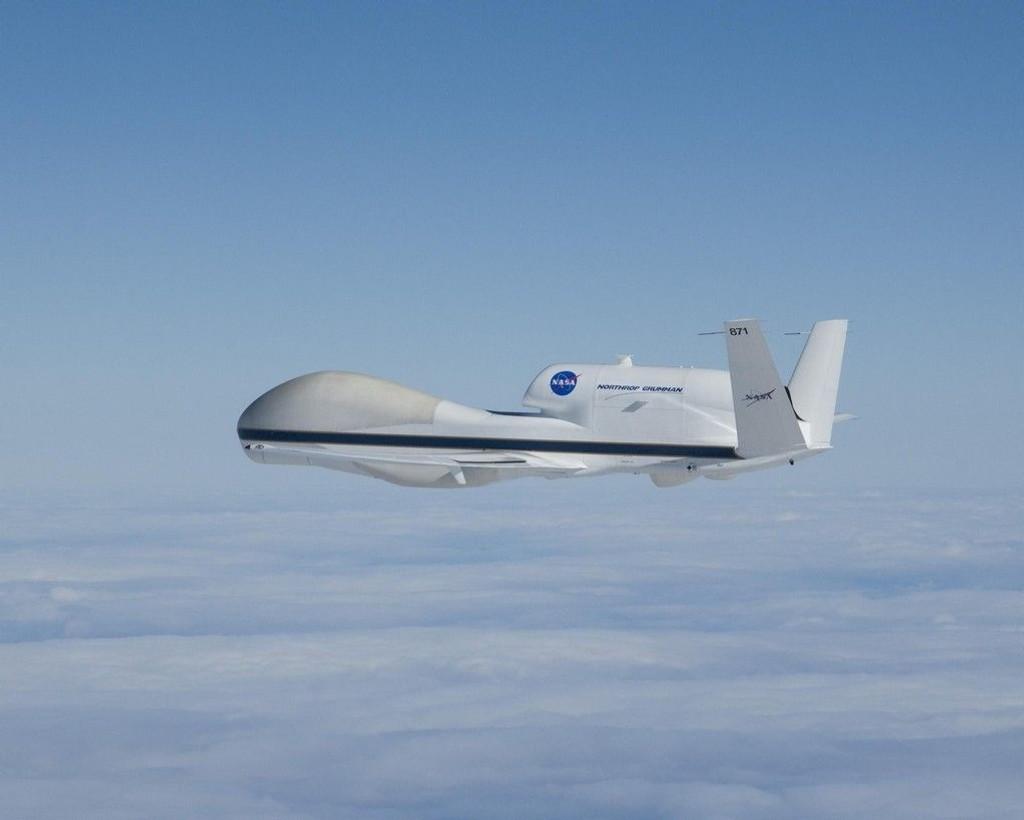 Global Hawk er en av flere typer droner utviklet i USA.