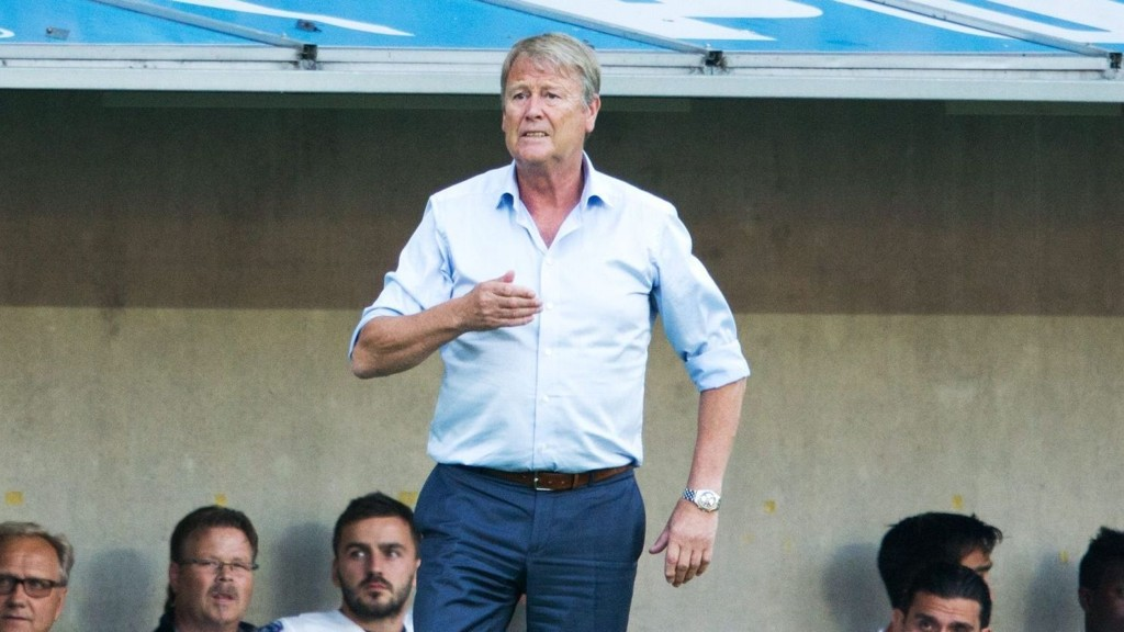 NÆRMER SEG: Åge Hareide og Malmö har fremdeles en god sjanse til å nå Champions League.