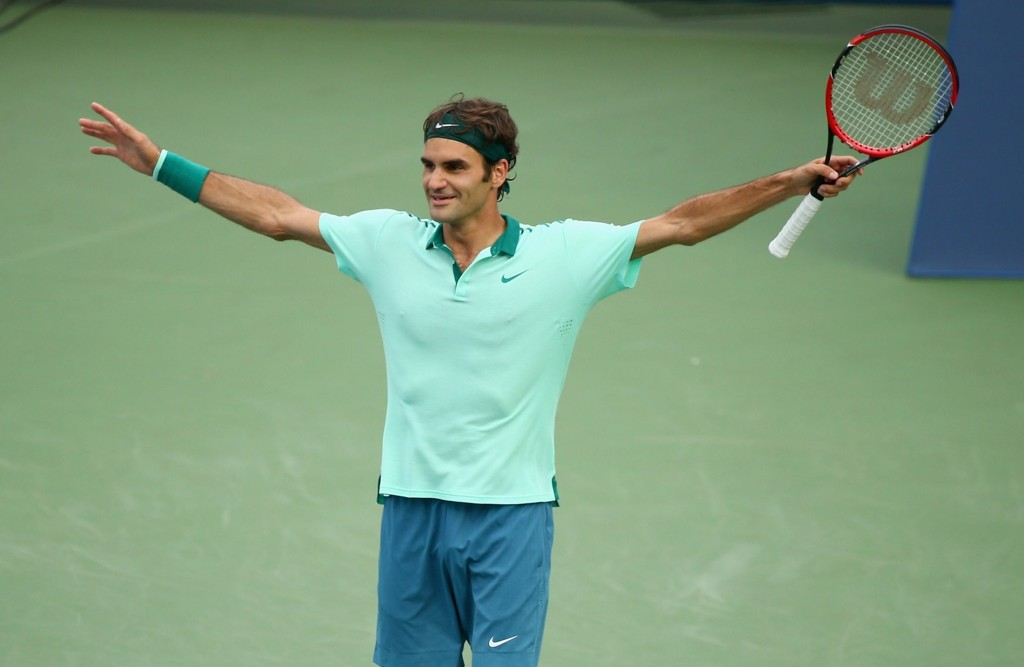 FORTSATT RIKEST: Roger Federer tjener mest av samtlige tennis-spillere.
