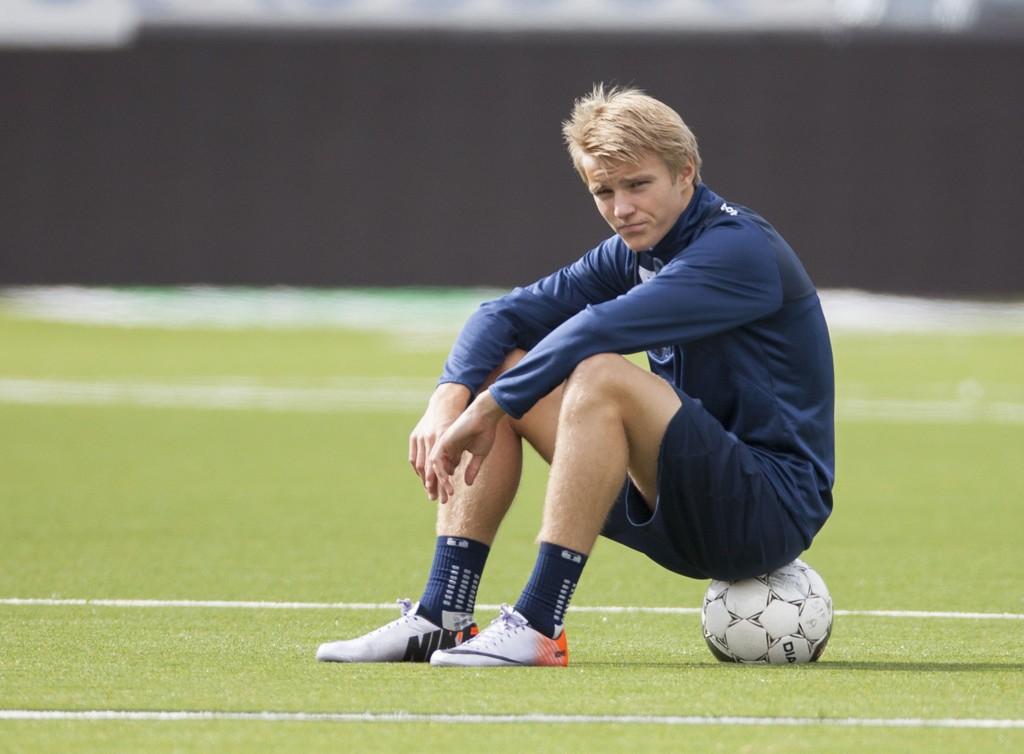 KLAR FOR NORGE: Martin Ødegaard får trolig sin landslagsdebut onsdag.