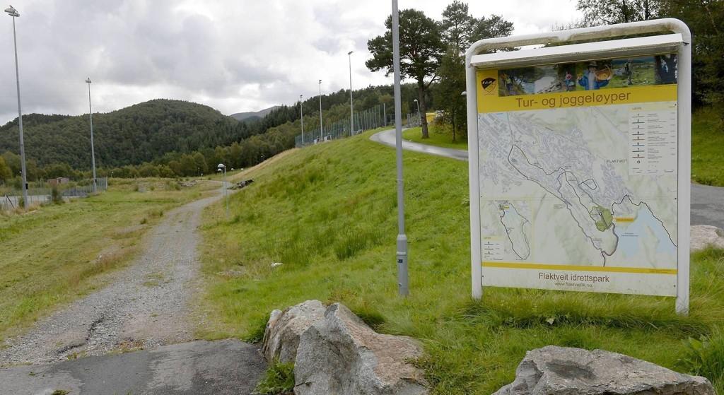 Det var i dette området ved Hjortlandsveien at den seks år gamle jenten ble overfalt og seksuelt misbrukt tirsdag i forrige uke.