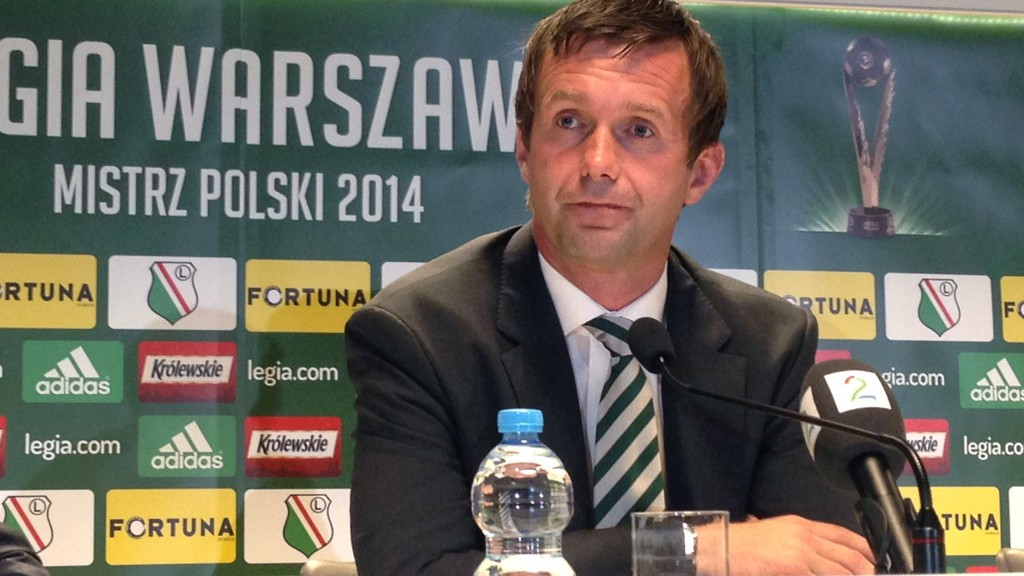 I EUROPA LEAGUE: Ronny Deila og Celtic deltar i Europa League.