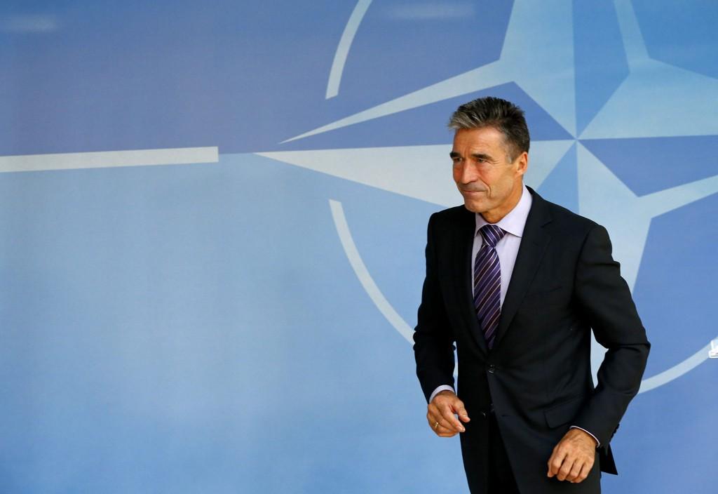 NATOs generalsekretær Anders Fogh Rasmussen har forståelse for at Ukraina ønsker å starte en prosess for på sikt å slutte seg til NATO.
