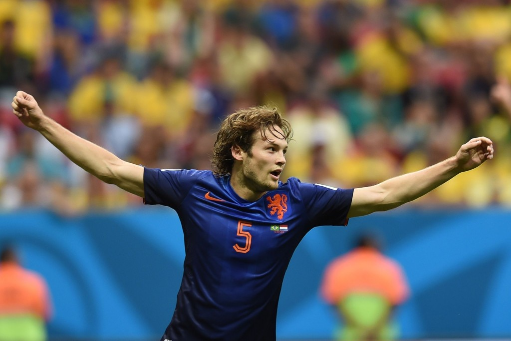 - KLAR FOR UNITED: Daley Blind skal på det nærmeste være klar for Manchester United.
