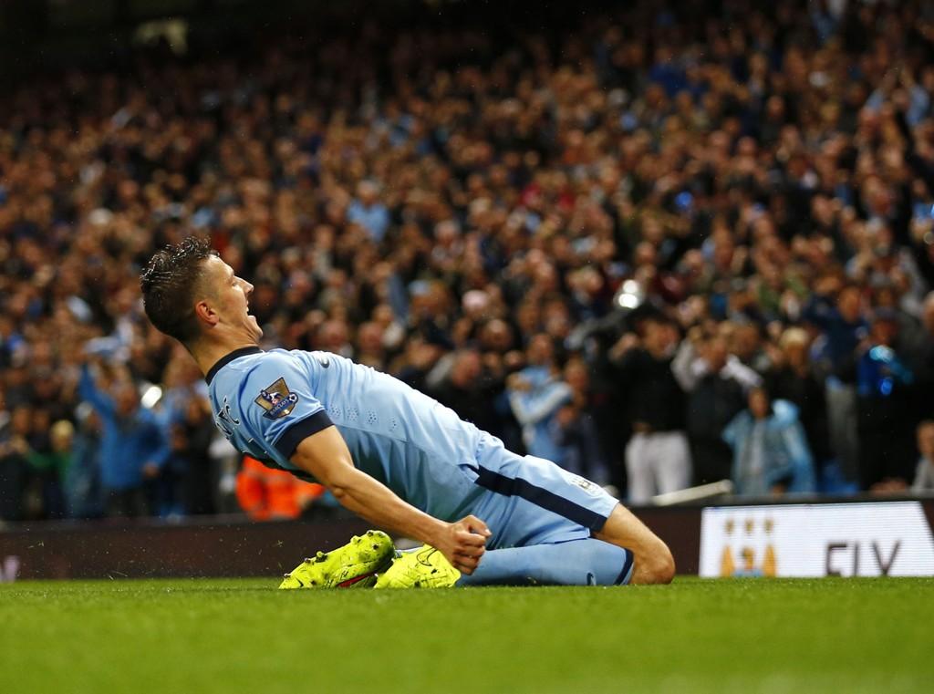 """Manchester City og Stevan Jovetic spilte en strålende kampe mot Liverpool sist, og City blir en av få """"sikre"""" holdepunkter på dagens tippekupong."""
