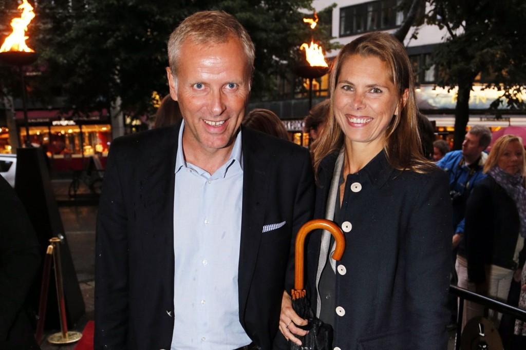 BRUDEPARET: Per Høiby og Louise Kathrine Dedichen gifter seg etter å ha vært samboere siden 2010.