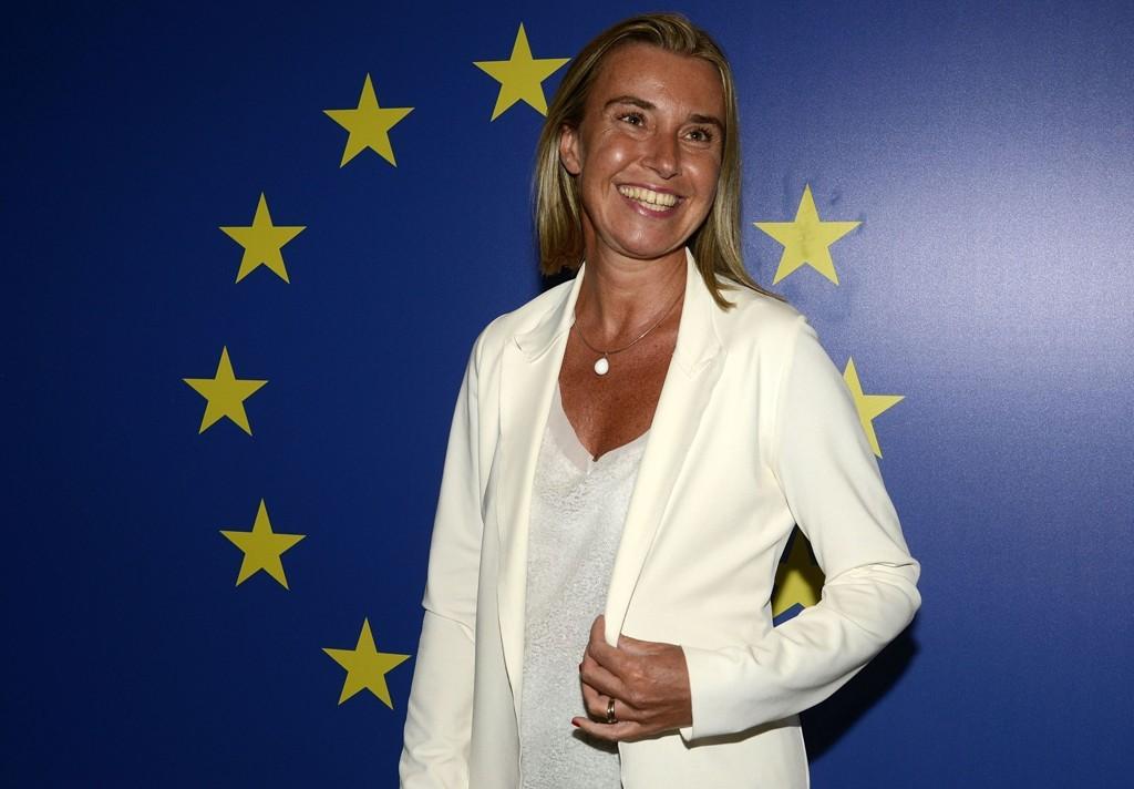 Federica Mogherini er 41 år gammel og har vært Italias utenriksminister siden februar i år.