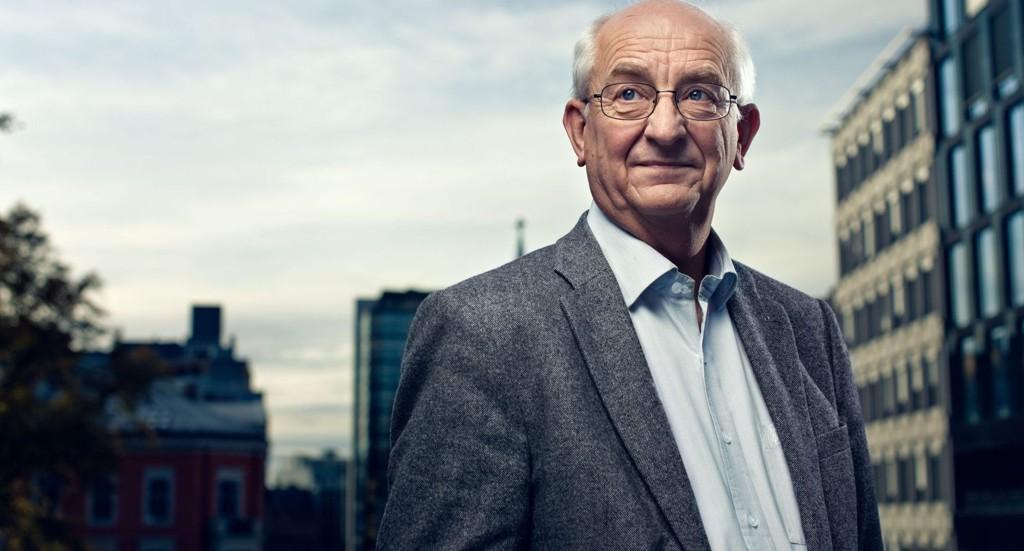 OBOS-sjef, Martin Mæland, mener staten bør betale for kollektivutbygging i Oslo.
