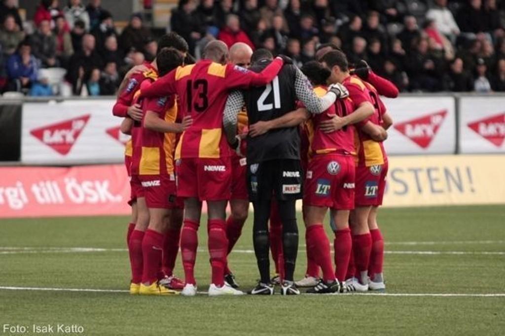 Det er mistanke om kampfiksing i forbindelse med 4-0-kampen mellom Jönkoping Södra og Syrianska (bildet) forrige uke.