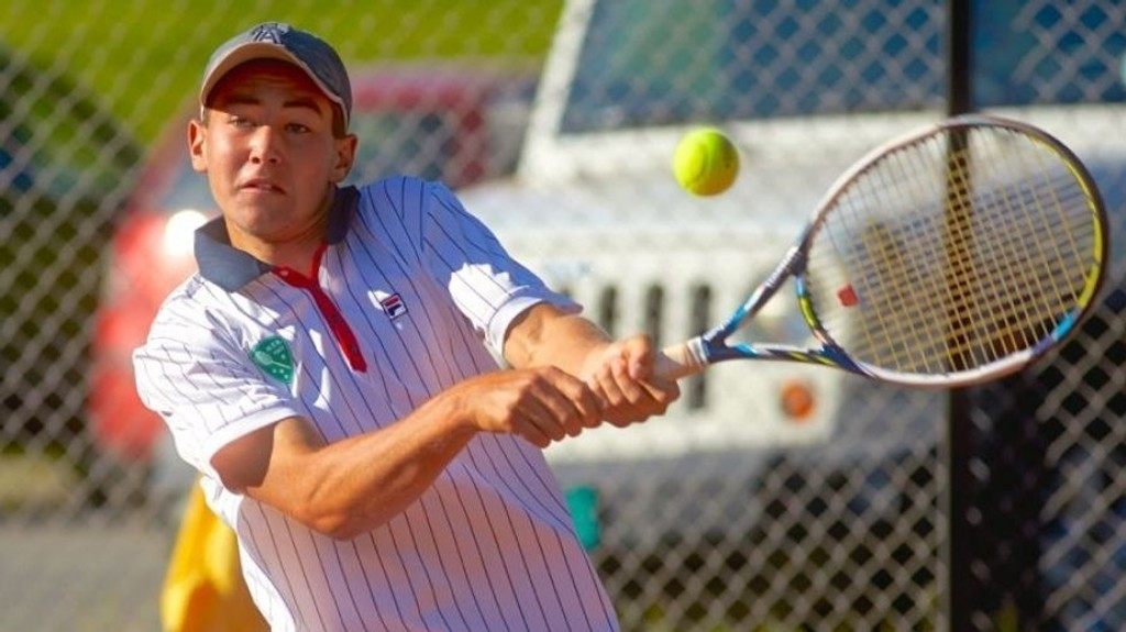 RØK UT: Viktor Durasovic røk ut av US Open fredag.