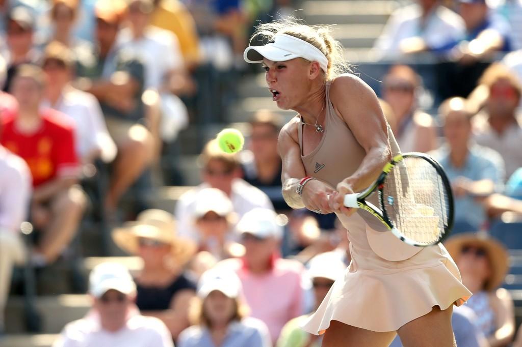 FINALE: Caroline Wozniacki er klar for US Open-finale.