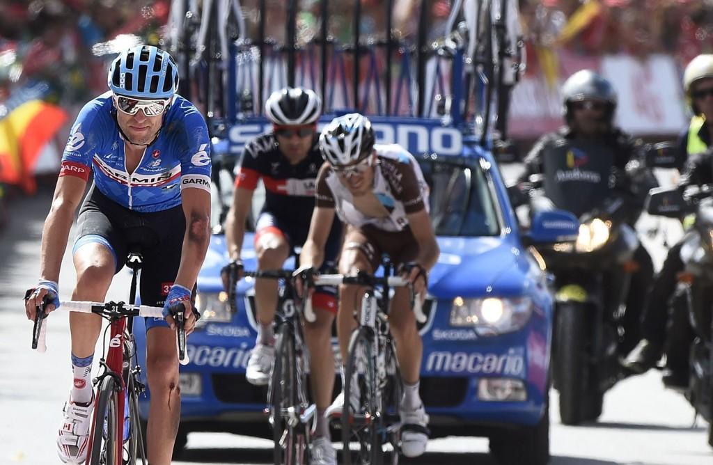 VANT: Ryder Hesjedal vant den 14. etappen av Vuelta a Espana.