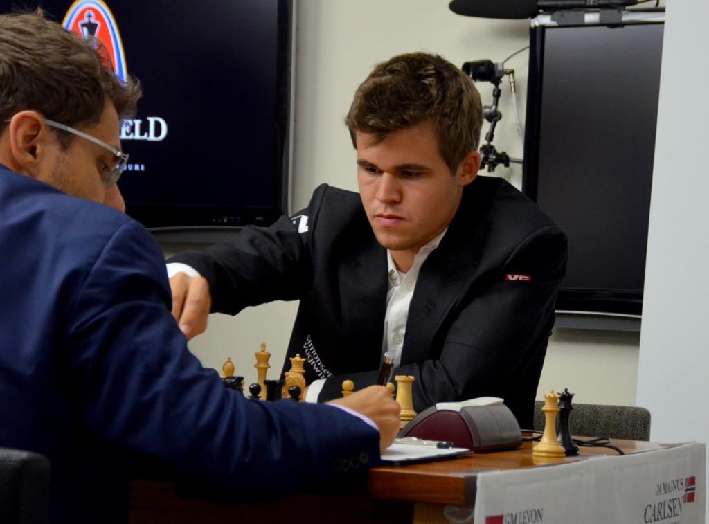SKUFFET: Magnus Carlsen er skuffet over egen innsats i Sinquefield Cup.