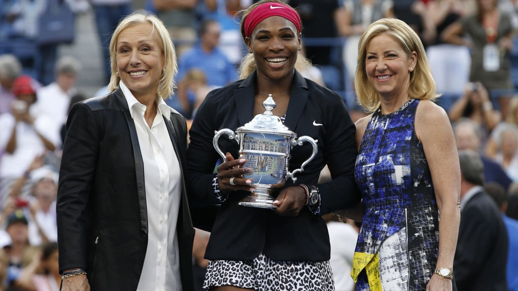 Amerikanske Serena Williams sikret seg søndag sin sjette US Open-seier etter å ha slått danske Caroline Wozniacki 6-3, 6-3 i finalen.