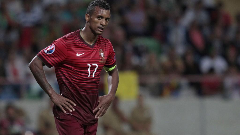 Nani kan bare konstatere portugisisk sjokktap mot Albania.
