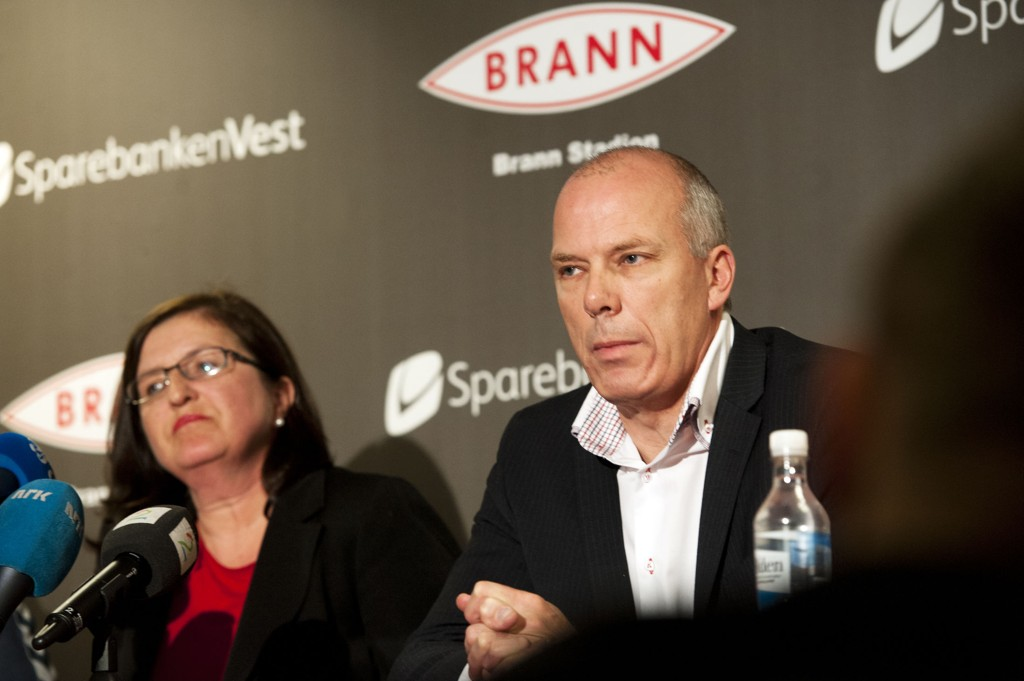 TUNGE TIDER: Roald Bruun-Hanssen varsler kostnadskutt og oppsigelser i Brann.
