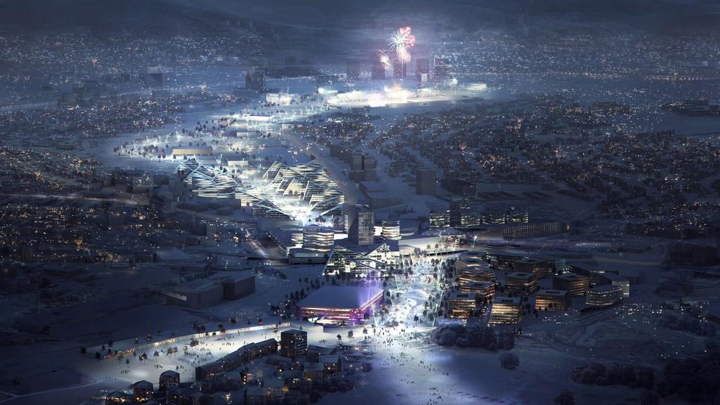 Dette er glansbildet-versjonen av et OL i Oslo i 2022.