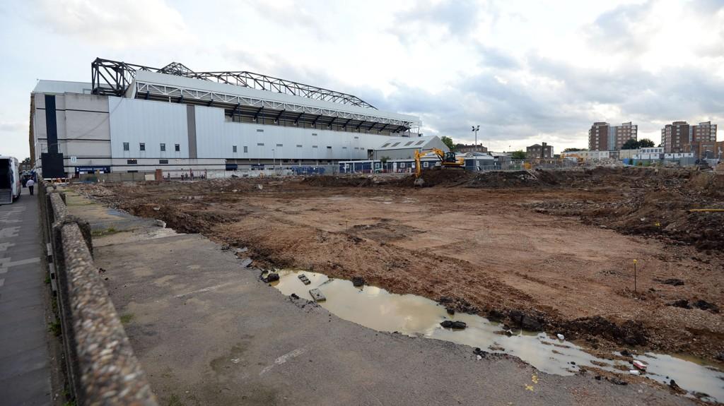 MÅ VENTE: Tottenham må foreløpig vente med å begynne på byggingen av deres nye stadion ved siden av White Hart Lane.