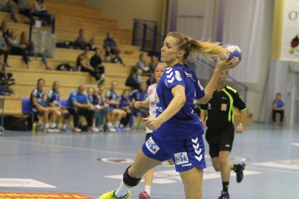 HEVER OPPSAL: Anne Kjersti Suvdal er en knallsignering for Oppsal. mot Stabæk ble det ni scoringer.