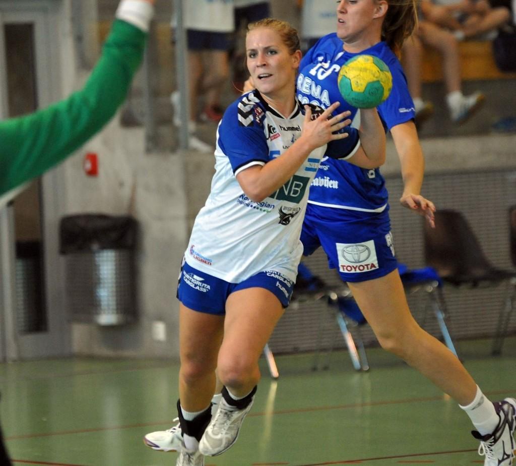 Jenny Græsholt ble Nordstrands toppscorer med seks mål etter en bra annen omgang.
