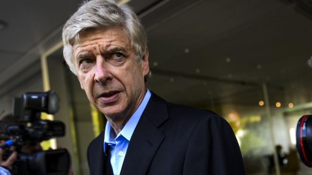 OVERRASKET: Arsene Wenger hevder Danny Welbeck ikke hadde kommet til Arsenal hvis han selv ikke hadde reist til Roma.
