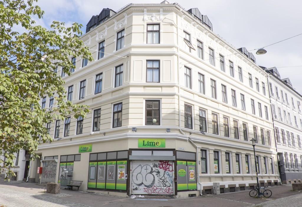 Flere Lime-butikker er under etterforskining av skattemyndigheter og politi. Her fra stengt Lime på Tøyen