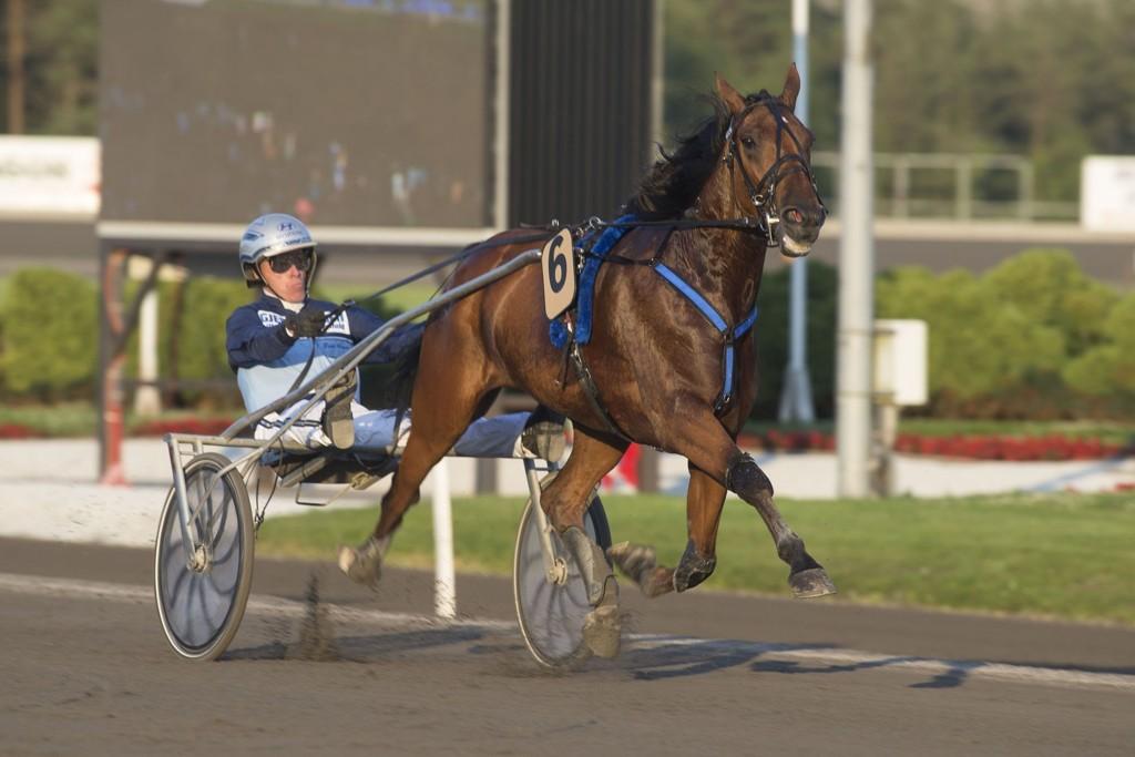 Frode Hamre, og Denise F. Boko har en flott mulighet på søndag. _foto_Roger Svalsr¿d_hesteguiden.com