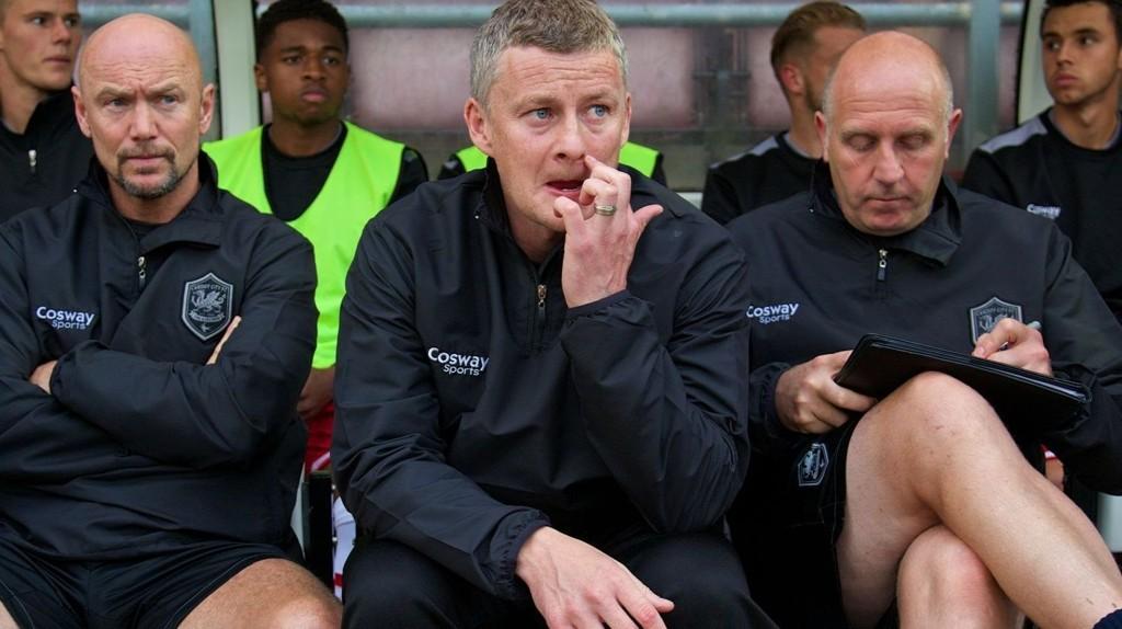 SPARKES: The Sun hevder at Ole Gunnar Solskjær får sparken i Cardiff.
