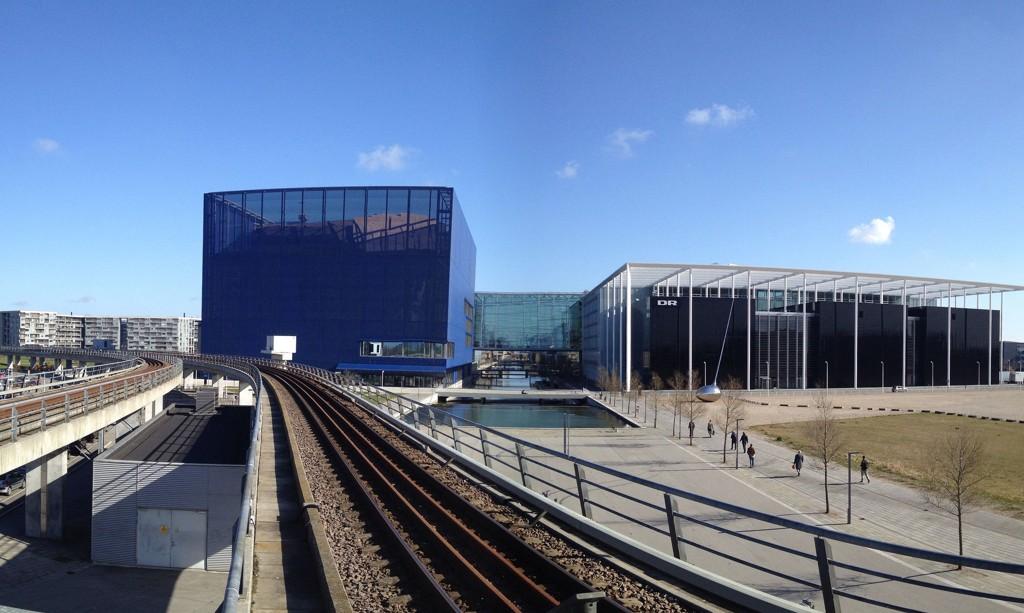 101 ansatte i Danmarks Radio (DR) er nødt til å finne seg noe annet å gjøre. Her er DR-byen i København.