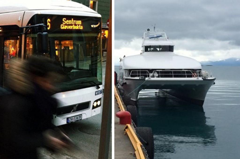 Troms fylkestrafikk ligger langt bak budsjett for inntektene fra buss og hurtigbåt.