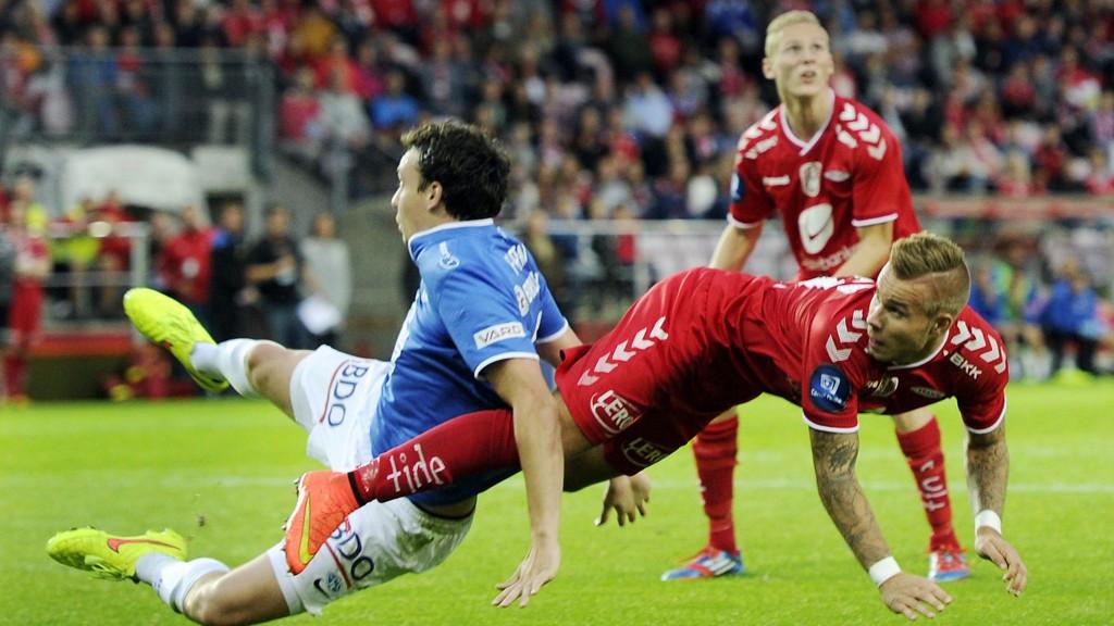 Marcus Pedersen og Brann slet mot Molde, men har ellers spilt meget godt etter sommerferien.