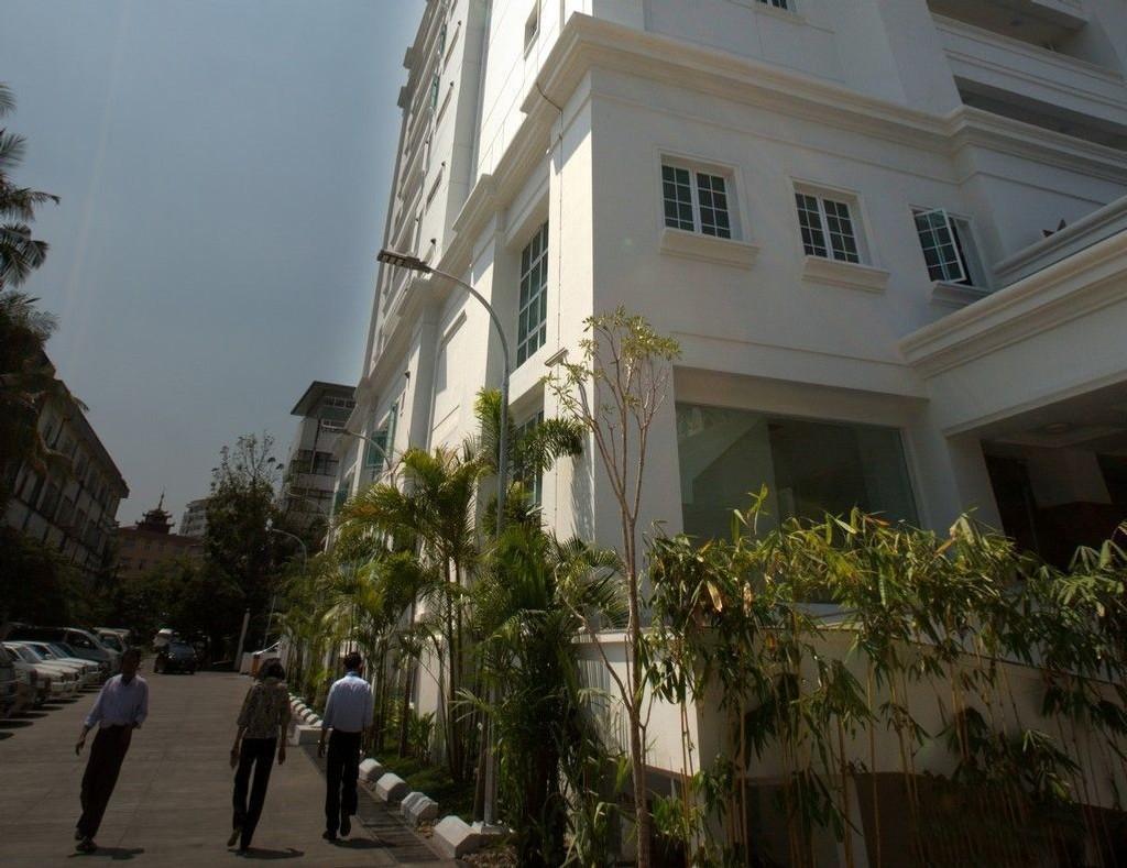 Telenors hovedkvarter i Yangon, Myanmar.