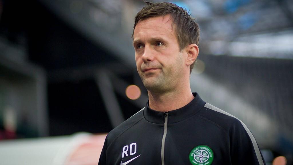KLAR TALE: Ronny Deila er helt sikker på at Celtic vinner den skotske ligaen.