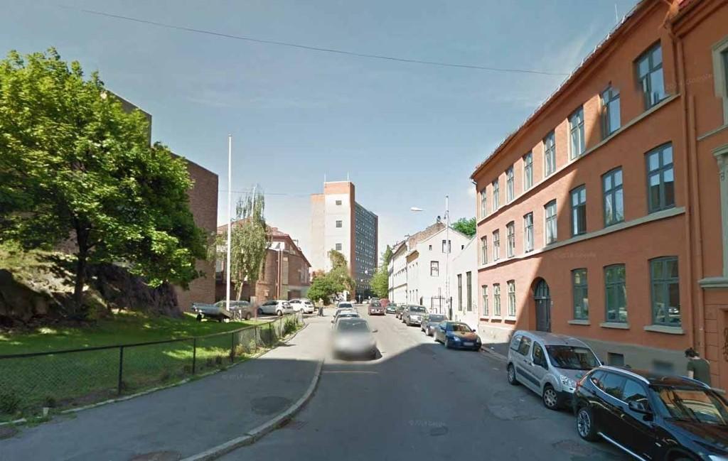 ÅSTED: Ranet skjedde i parets leilighet på Enerhaugen i Oslo.