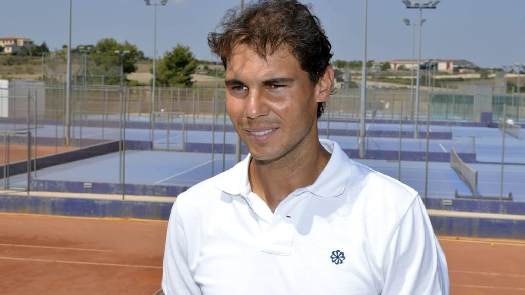 KLAR FOR COMEBACK: Rafael Nadal har ikke konkurrert siden Wimbledon-turneringen i sommer. Nå er han klar for comeback.