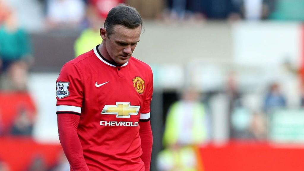 UTVIST: Wayne Rooney fikk rødt kort mot West Ham.
