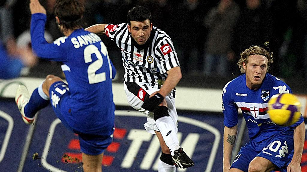 Evigunge Antonio Di Natale har scoret 184 seriemål for Udinese og er allerede oppe i seks scoringer i serie og cup denne sesongen.