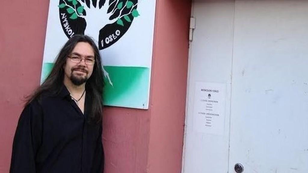 Martin Johannessen er sosiallærer ved Nyskolen, på Vålerenga i Oslo.