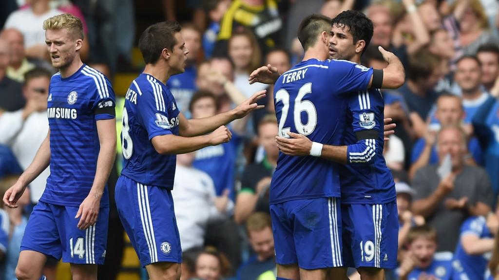 Chelsea og Arsenal barker sammen i rundens storkamp i Premier League søndag ettermiddag.