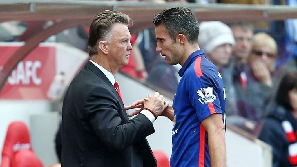 KREVENDE: Robin van Persie er positiv til sin nye manager.