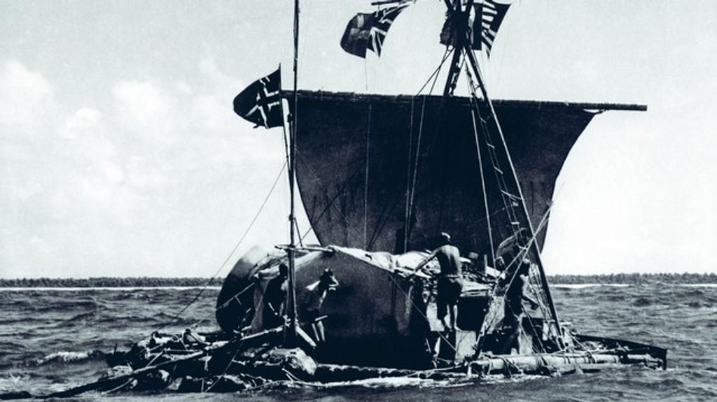 En restaurert versjon av Kon-Tiki vises til helgen på Cinemateket.