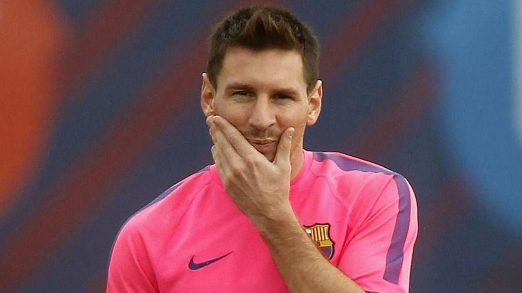 OVER TOPPEN? Argentinske fotballkjennere mener Lionell Messi har nådd toppen.
