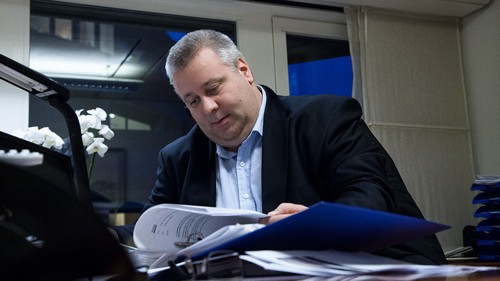 Statssekretær Bård Hoksrud (Frp) i Samferdselsdepartementet.