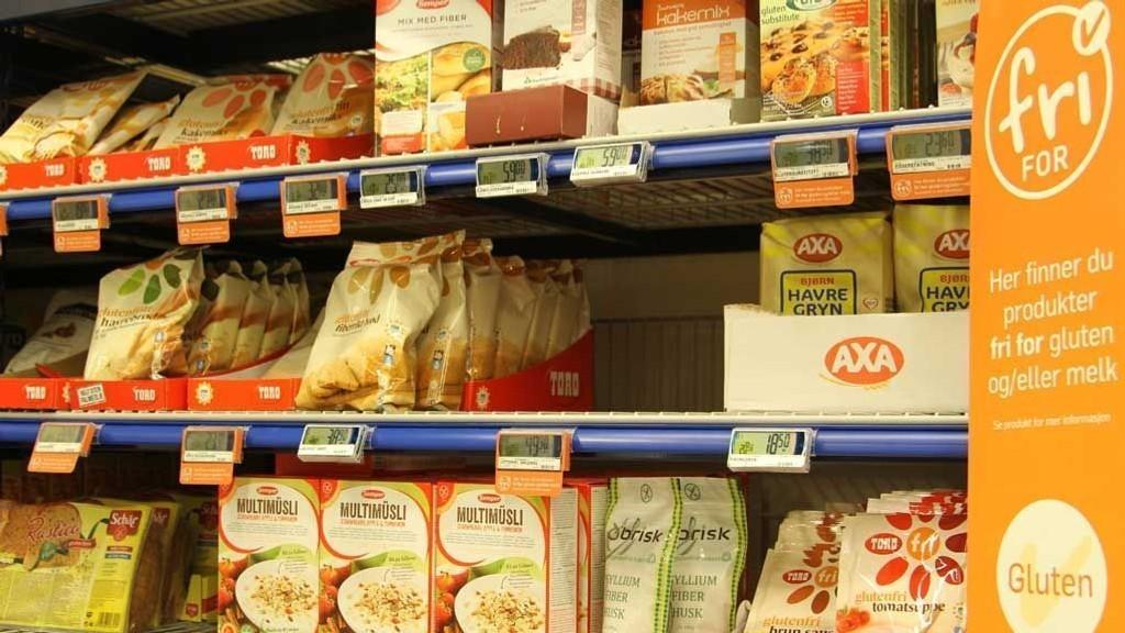 ALLERGIVENNLIG MAT: De fleste dagligvarebutikker har hyller med melkefrie og glutenfrie varer. Supert for de som trenger det, men for andre som prøver seg fram på egenhånd kan det være et lite smart valg.
