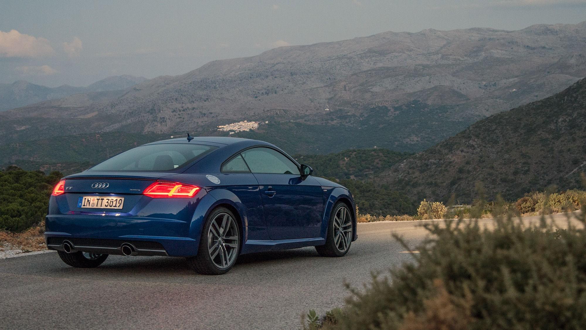 POTENT: Nye Audi TT har blitt skarpere i kantene, og blitt en mer sportslig doning.