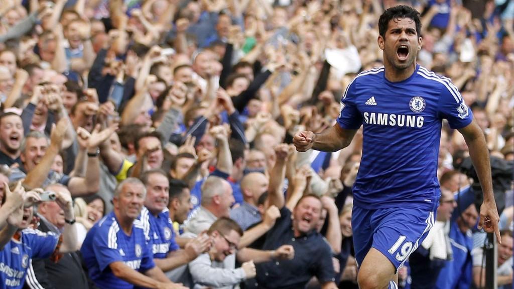 Diego Costa har vært strålende hittil for Chelsea.