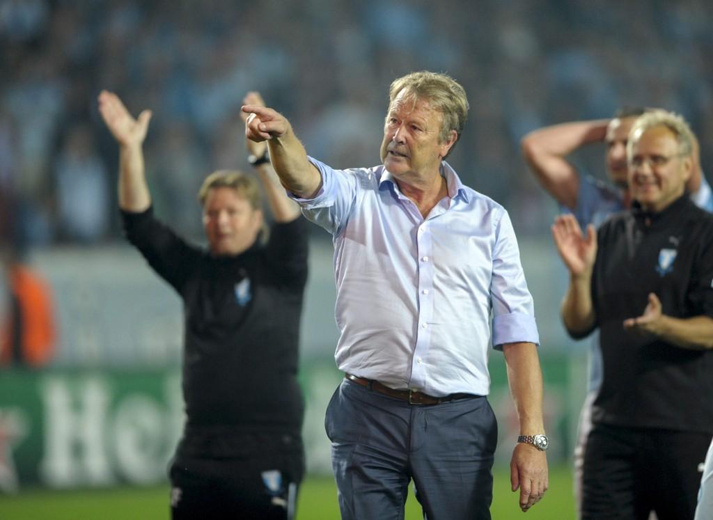 MESTER: Åge Hareide og Malmö er mestere i Sverige.