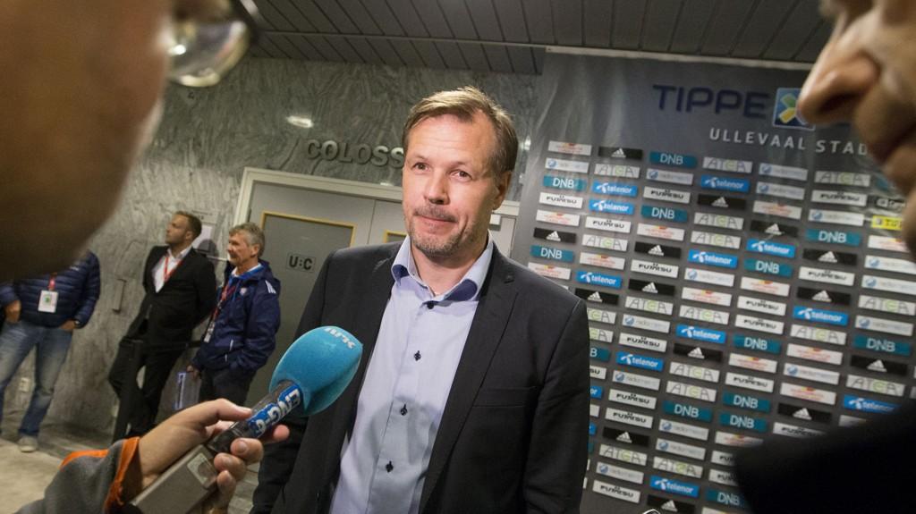 FORNØYD: Kjetil Rekdal var glad etter tre poeng mot Sogndal.